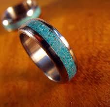 Turquoise Wedding Rings by Mens Turquoise Wedding Rings Fresh Native American Wedding Rings