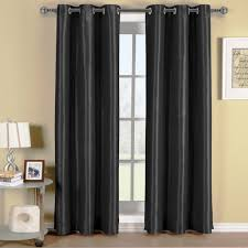 Ikea Blackout Curtains Transitional Interior Ideas With Ikea Blackout Curtains In Black