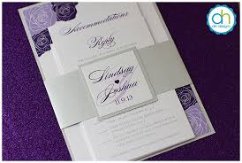 Purple And Silver Wedding Invitations Mailing Your Philadelphia Custom Wedding Invitations April Lynn