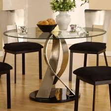 kitchen extraordinary glass dining table round dining room