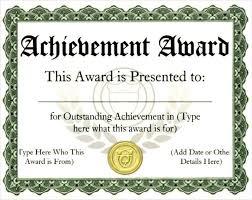 example of award certificate 9 award certificate examples free