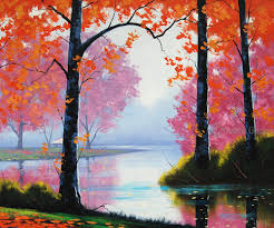 Home Decor Paintings For Sale Fall Painting Promotion Shop For Promotional Fall Painting On