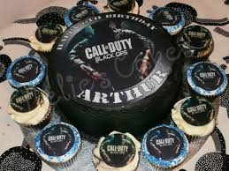 call of duty cake topper call of duty cake and cupcakes book your party package