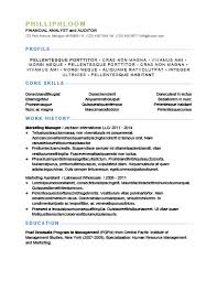 It Resume Example 2014 by Simple Resume Templates 75 Examples Free Download