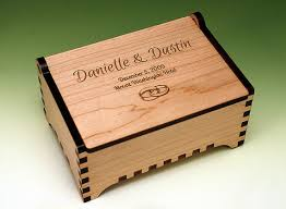 personalized wooden jewelry box custom laser cut and engraved wooden jewelry box