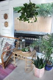 screened porch makeover shed turned boho screened porch thewhitebuffalostylingco com