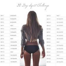 Challenge How Does It Work 30 Day Squat Challenge Inspiremyworkout A Collection Of