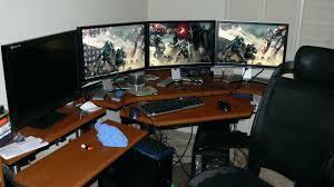 100 ultimate desk setup desk sauder corner desk with return