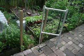 garden fence gate vineyard cedar works vegetable garden fence gate