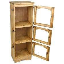 small storage cabinet with doors for kitchen small rustic pine storage cabinet for bath bedroom or