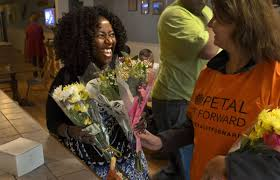 auburn florist petal it forward auburn florist brightens days downtown with free