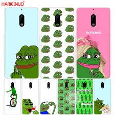 Nokia Phone Meme - hameinuo internet meme smug frog pepe cover phone case for nokia 9