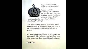 woman hands out letters not candy to u0027overweight u0027 children wpxi