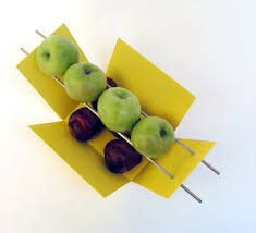 Fruit Bowls by Taot Modern Fruit Bowl Yellow Joe Papendick