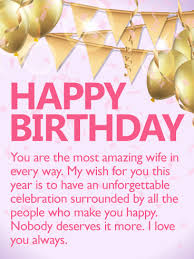 birthday cards for wife birthday u0026 greeting cards by davia