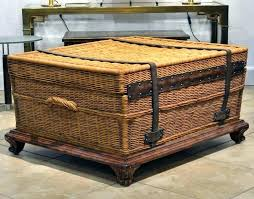 travel trunks images Vintage trunk table coffee table large wooden chest trunk rustic jpg