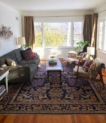 Persian Rug Decor Oriental Rugs In Midcentury Living Rooms Me Likey Retro Renovation