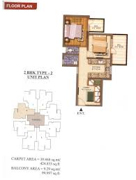 affordable housing floor plans 2bhk 424100 floor plan of pareena laxmi appartment sector 99a