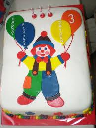 gymbo clown cake cake friend u0027s son