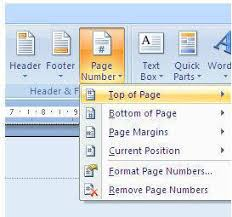 cara membuat nomor halaman yang berbeda di word 2013 cara membuat nomor halaman di word pengguna komputer