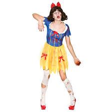 Walking Dead Halloween Costume Adults Ladies Zombie Snow White Costume Halloween Walking Dead
