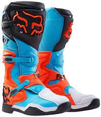 Fox Fri Rohr Thin Socks Boots Motocross Turquoise Fox Motocross Gear