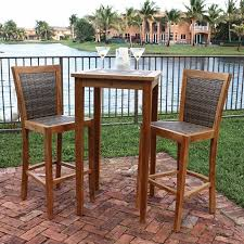 Patio Bistro Sets On Sale by Furniture Traditional Bar Height Patio Set For Stylish And
