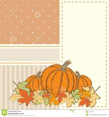 hand drawn invitation or greeting thanksgiving card template wit