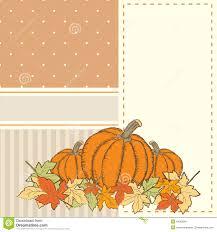 pumpkin invitation hand drawn invitation or greeting thanksgiving card template wit