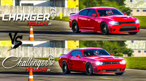 dodge charger vs challenger 2015 charger srt hellcat vs 2015 challenger srt hellcat top gear