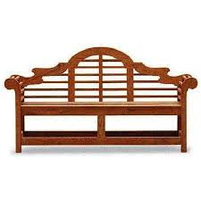 woodworking project paper plan to build the lutyens garden bench