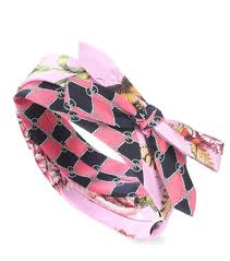 silk headband gucci printed silk headband mytheresa