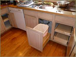 garbage can cabinet insert home design ideas