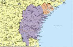 Jacksonville Map Coverage
