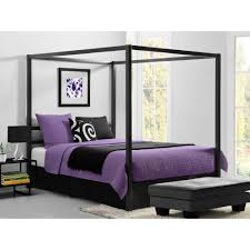 canopy bed design beautiful bed canopy walmart collections