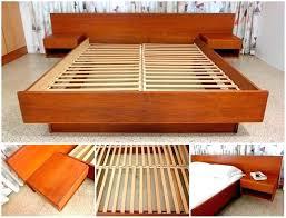 Make Your Own Platform Bed Frame Diy Floating Platform Bed Here Are King Platform Bed Bed Frames