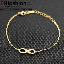 fashion infinity bracelet images Fashion infinity bracelet chain bracelet rose gold color charm jpg