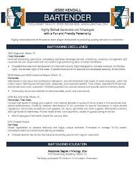 Sample Of Server Resume by Bar Resume Examples Top Best Resume Examples Ideas On Pinterest