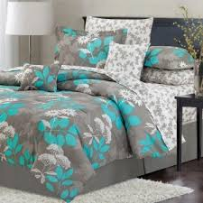 Teal And Grey Bedding Sets Vikingwaterford Page 41 Teal And Grey Floral Print Bedding
