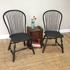 Black Windsor Chairs Vintage Windsor Chairs Perfect In Home All Home Decorations