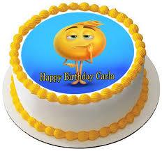 Movie Themed Cake Decorations The Emoji Movie Edible Cake Topper U0026 Cupcake Toppers U2013 Edible