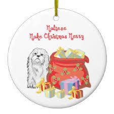 maltese ornaments keepsake ornaments zazzle
