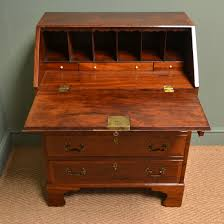 bureau writing desk mahogany writing desk striking small antique georgian bureau