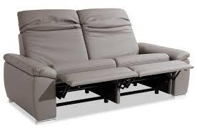 sofa federkern 3er sofa mit relax grau mit federkern 3er sofa einzelsofas