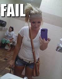 Bathroom Selfie Meme - femail reveals the hilarious selfie fails sweeping the web daily