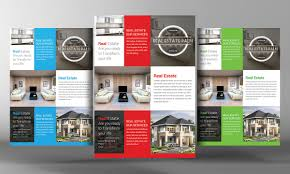 Free Real Estate Flyer Templates by Real Estate Flyer Template Flyer Templates Creative Market
