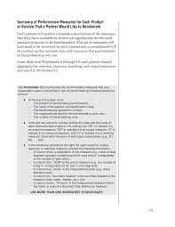 chapter 4 steps of customer driven benchmarking guide for