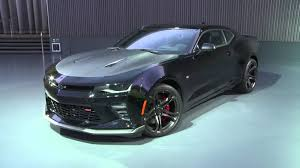 chevy camaro black on black 2017 chevy camaro 1le ss v8 black walk around and interior b