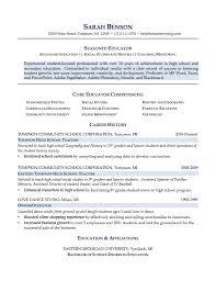Sample Resume For Teacher Assistant by Sample Resumes For Teachers Free Resume Templates