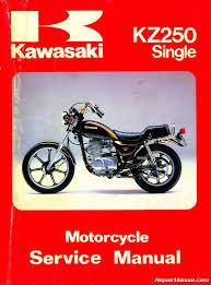 1980 1983 kawasaki kz250 motorcycle repair service manual